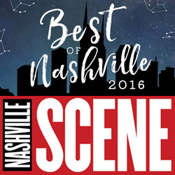Voted best of Nashville Scene